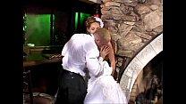 Sexy bride hot anal sex