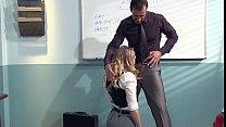 Kagney Linn Karter Horny For Italian Teacher's ... Thumbnail