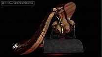3D Cobra chick masturbates Thumbnail