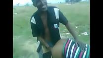 Msanzi Outdoor Public Fuck