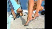 Leg Sex Shoe Shop