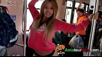 Bailarina se desnuda en Metro de Monterrey - am...