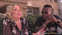 Karen Summer in her first ever interracial porn...