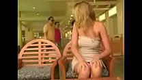 Carli Banks masturbating in shopping mall