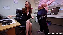 Tali Dova's long hard day at work on Monsters o...