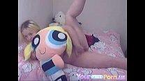 Canadian Busty Teen Masturbates on Webcam