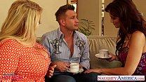 Superb moms Karen Fisher and Syren De Mer share...