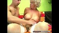 Busty Grandma Effie