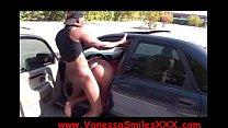 Vanessa Smiles Bubble Butt Ebony CUMMING AT KING OF DIAMONDS