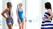 Teenie Lola Foxx, Aubrey Star, Charlotte Stokel...