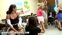 DANCING BEAR - Alaina's Fiesta Turns Into A CFNM Gangbang Party!