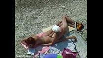 Beach cock sucking voyeur video