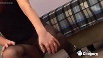 Amateur Teen In Pantyhose & Heels Strips thumb
