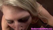 Blonde teen in docs trance sucking POV Thumbnail