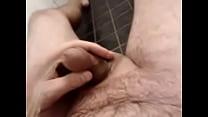 Pissing in shower Thumbnail