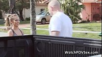 Drilling hot big tit neighbor teen babe