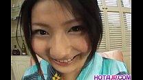 Megumi Haruka gets vibrator under kimono