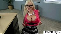 (nina elle) Busty Hot Girl Hard Banged In Office video-25