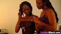 Sexy Ebony Lesbians Play With Big Toys-2