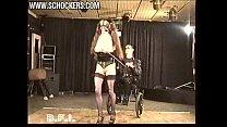 Секс с молодой блондинкой в чулках