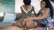 Sultry Ebony Stepma Needs Some Fresh Meat