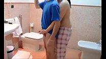 fucking my wife in the bathroom