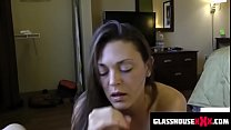 dirty step mom sucks you off while dads in the ...