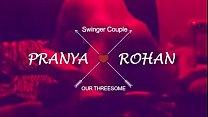 Loud Moaning Desi Wife Pranya in Threesome with... Thumbnail
