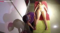 Demostración de masaje erótico : Parte III ADR074