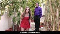 daughterswap   naughty blonde teen caught on webcam and fucked