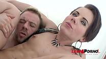 Sexy slut Sasha Zima double anal training (firs...