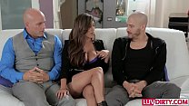 Slutty wife Reena Sky gets slammed