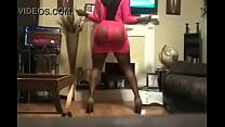 Big Juicy Ass Booty Clap Sexy Black Woman (XVID...