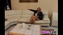 Mature Blonde European Woman Wants Cock