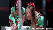 Brazzers - Sexy nurses Dani and Luna help with ...