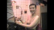 Mistress Sayako Sucks Cock In the Basement Of A...