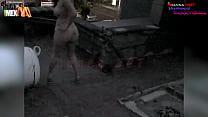 Danna HOT desnuda por las calles de León Guanajuato México