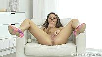 Femorg Babe Maturbation to Shuddering Orgasm wi...