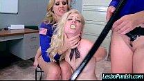 (alison&charlotte&julia) Mean Lesbian Punish Wi...