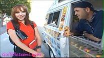Gullibleteens.com icecream truck teen schoolgir... thumb