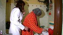 OldNanny Sexy nurse shower granny, Granny with ...