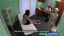 Fake Hospital Innocent redhead gets a creampie prescription - download porn videos