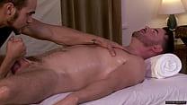 Brendan Patrick fucked by masseur Brock Avery