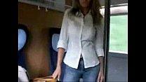 Baisée dans le train !