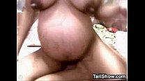 Pregnant Asian Cam Girl
