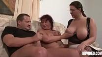 Fat german milfs sharing cock