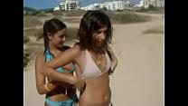 Two sexy busty girls on beach TWF-teenworldforum.com (7)
