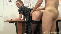 Russian mature teacher 12 - Elena (anathomy les...
