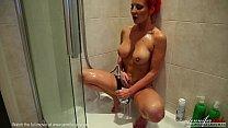 British Babe Jennifer Jade Naked Shower Pussy Play
