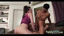 Mom and daughter threesome 0715
